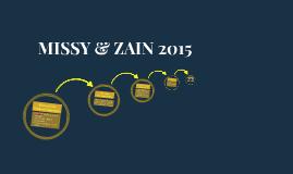 MISSY & ZAIN 2015