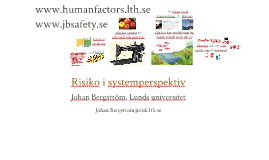 Risiko i systemperspektiv