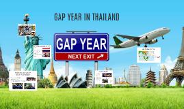 GAP YEAR IN THAILAND