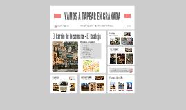 Vamos a Tapear en Granada