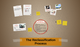 The Reclassification Process