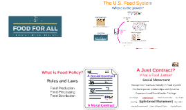 Food for All - policy presentation