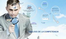 Copy of Análisis de la Competencia