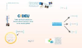 Copy of T.E. Ciudades activas para el empleo 2017
