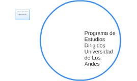 Programa de Estudios Dirigidos