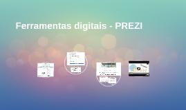 Ferramentas digitais - PREZI