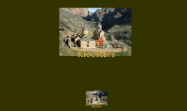 Copy of Kloosters