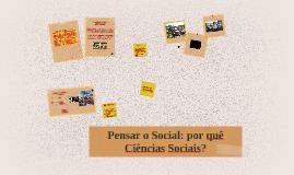 O que é Sociologia?