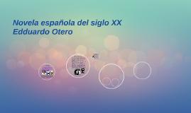 Novela española del siglo XX