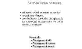 Open Grid Services Architecture (OGSA)