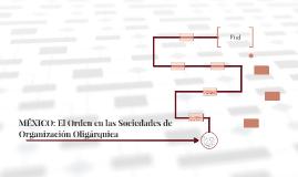 MÉXICO: El Orden en las Sociedades de Organización Oligárqui