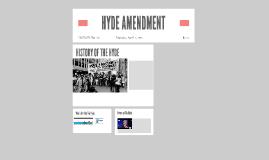 HYDE AMENDMENT
