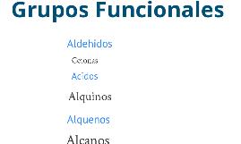Grupos Funcionales Quimica Organica