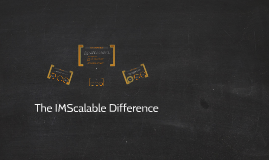 The IMScalable Difference