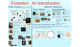 Pre-AP Evolution - Darwin and Natural Selection