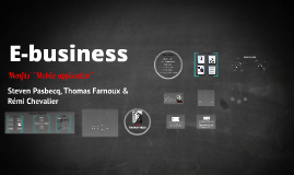 Copy of E-business