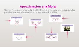 Aproximación a la Moral