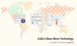 India's New Wave Technology
