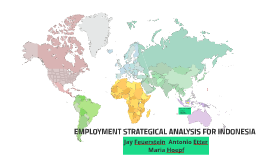 Employment Strategic Analysis for Indonesia