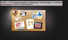 Tarefa 1 - As Tecnologias Digitais de Informação e Comunicaç