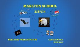 MARLTON BULLYING