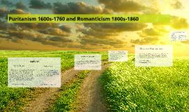 Puritanism and Romanticism