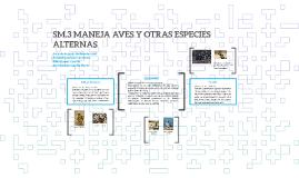 SM.3 MANEJA AVES Y OTRAS ESPECIES ALTERNAS