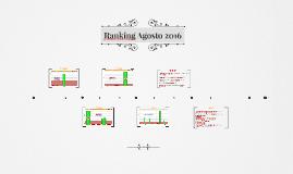 Ranking Agosto 2016