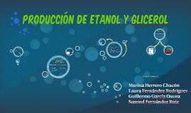 Producción de etanol y glicerol
