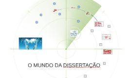 Copy of  O MUNDO DA DISSERTAÇÃO