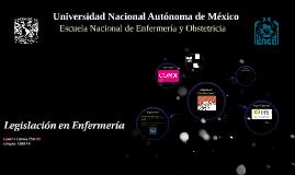 Copy of Legislación en Enfermería