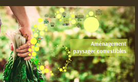 Aménagement paysager comestible ( foodscaping)