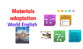 Materials adaptation. World English