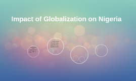 Impact of Globalization on Nigeria