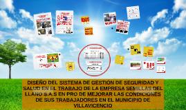 EVALUACIÓN DEL PROGRAMA DE SALUD OCUPACIONAL DE LA EMPRESA S
