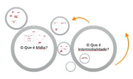 o que é intermidialidade? o que é mídia?