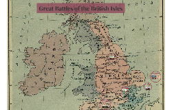 Great Battles of Old English Times