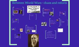 Between World Wars.. Mellemkrigstiden!