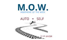"""MOW """"AUTO"""""""