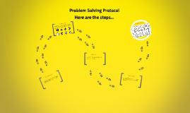Problem Solving Protocol