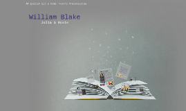 William Blake. AP English Project