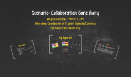 Scenario: Collaboration Gone Awry