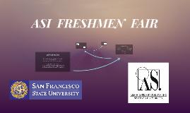 ASI FRESHMEN FAIR