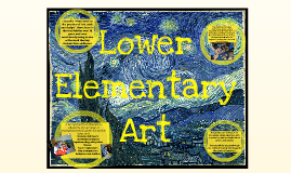 Lower Elementary Art