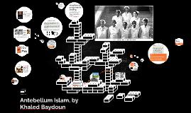 Antebellum Islam, by