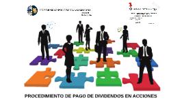 PROCEDIMIENTO DE PAGO DE DIVIDENDOS EN ACCIONES