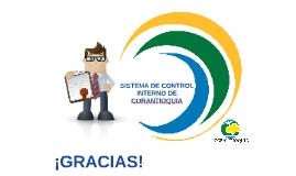 SISTEMA DE CONTROL INTERNO DE CORANTIOQUIA