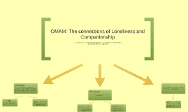 OMAM: The connections of Loneliness and Companionship