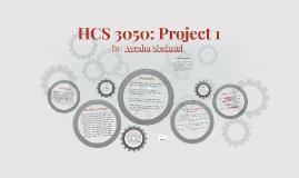 HCS 3050: Project 1