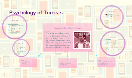 Psychology of Tourists